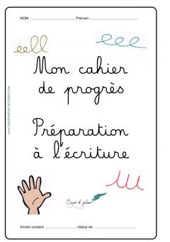 Cahier progression maternelle